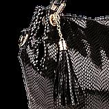 Женская сумка Realer P008 черная, фото 5