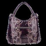 Женская сумка Realer P059 черная, фото 3