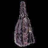 Женская сумка Realer P059 черная, фото 4