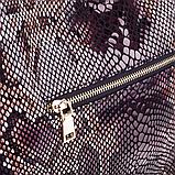 Женская сумка Realer P059 черная, фото 5