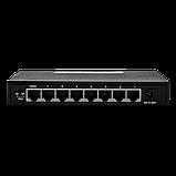 Коммутатор сетевой 8 портов 1 GB Green Vision GV-011-D-8PG Без POE, фото 2