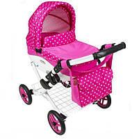 Коляска для кукол Adbor Lily K-09 Pink Pea