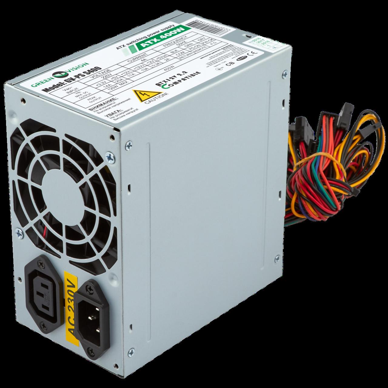 Уценка. Блок питания GreenVision GV-PS ATX S400/8