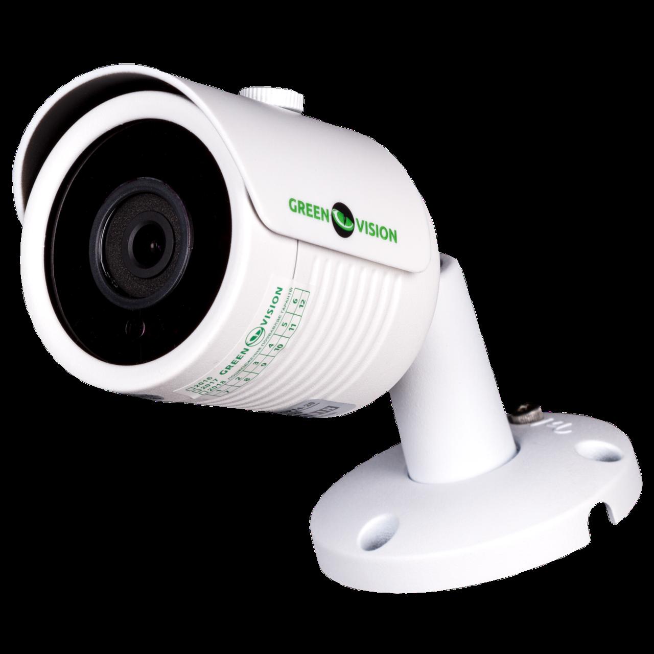Наружная IP камера GreenVision GV-007-IP-E-COSP14-20