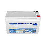 Аккумулятор мультигелевый AGM LPM-MG 12V - 7 Ah, фото 2