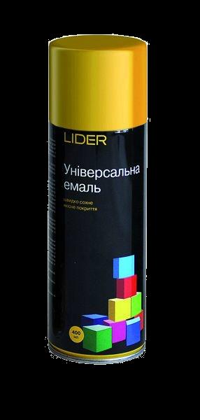 Универсальная эмаль LIDER Желтая, RAL 1023