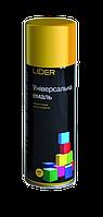Универсальная эмаль LIDER Черная (Глянцевая), RAL 9005