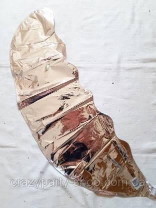 Шар-гигант  фольгированный Месяц фигурный серебристый 90 см
