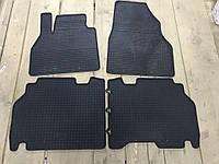 Резиновые коврики (4 шт, Polytep) Mitsubishi Outlander 2001-2006 гг. / Резиновые коврики Митсубиси Аутлендер