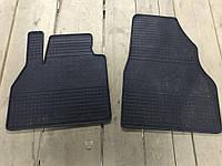 Резиновые коврики (2 шт, Polytep) Renault Trafic 2015 гг. / Резиновые коврики Рено Трафик