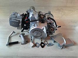 Двигун на мопед Альфа; Дельта 110 куб, механіка