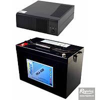 Запасной источник для котлов на твердом топливе PG 1000 +акумулятор 100 А/час