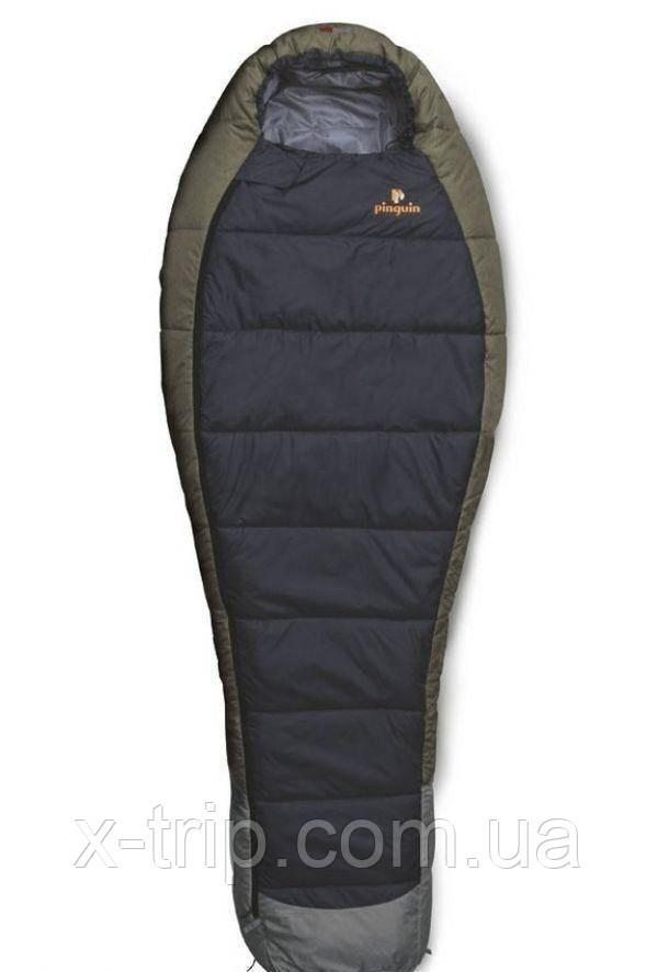 Спальный мешок Pinguin Savana Primaloft 195 Серый, Правая