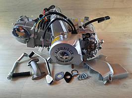 Двигатель 125 куб. полу-автомат на мопед Дельта ,Альфа, Актив