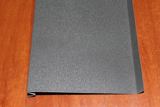 Отлив оконный серый (антрацит) RAL 7024