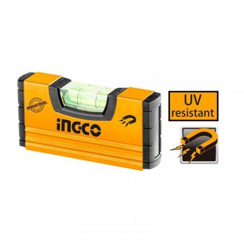 Уровень 10 см с магнитами INGCO INDUSTRIAL