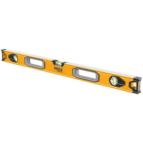 Уровень 150 см 3 капсулы алюминиевая рамка 1.5 мм INGCO INDUSTRIAL