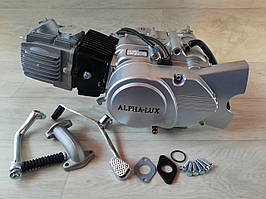 Двигун DELTA,ALFA,ACTIVE -110 ( механіка) без стартера