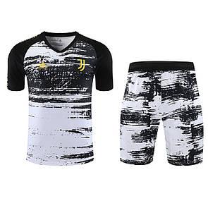 Футбольная форма / тренировочный костюм Ювентус 20-21