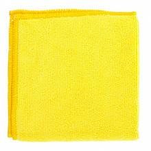 Серветки універсальні з мікрофібри жовті 300х300 мм, Elfe