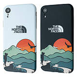 Защитный чехол для Apple iPhone IMD Print Case The North Face Aurora, фото 3