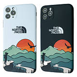 Защитный чехол для Apple iPhone IMD Print Case The North Face Aurora, фото 6
