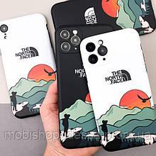 Защитный чехол для Apple iPhone IMD Print Case The North Face Aurora