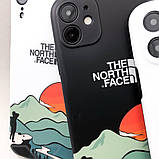 Защитный чехол для Apple iPhone IMD Print Case The North Face Aurora, фото 8