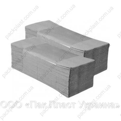 Полотенца бумажные листовые 160 листов Серые