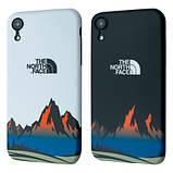 Защитный чехол для Apple iPhone IMD Print Case The North Face Mountains, фото 3