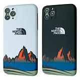 Защитный чехол для Apple iPhone IMD Print Case The North Face Mountains, фото 4