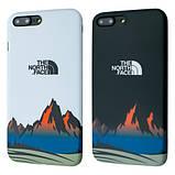 Защитный чехол для Apple iPhone IMD Print Case The North Face Mountains, фото 2