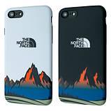 Защитный чехол для Apple iPhone IMD Print Case The North Face Mountains, фото 5