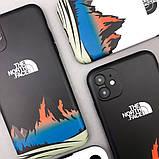 Защитный чехол для Apple iPhone IMD Print Case The North Face Mountains, фото 7