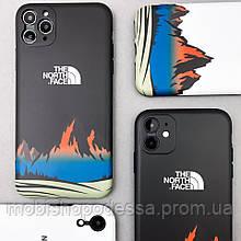 Защитный чехол для Apple iPhone IMD Print Case The North Face Mountains