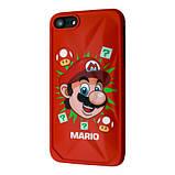Защитный чехол для Apple iPhone IMD Print Mario Case, фото 5
