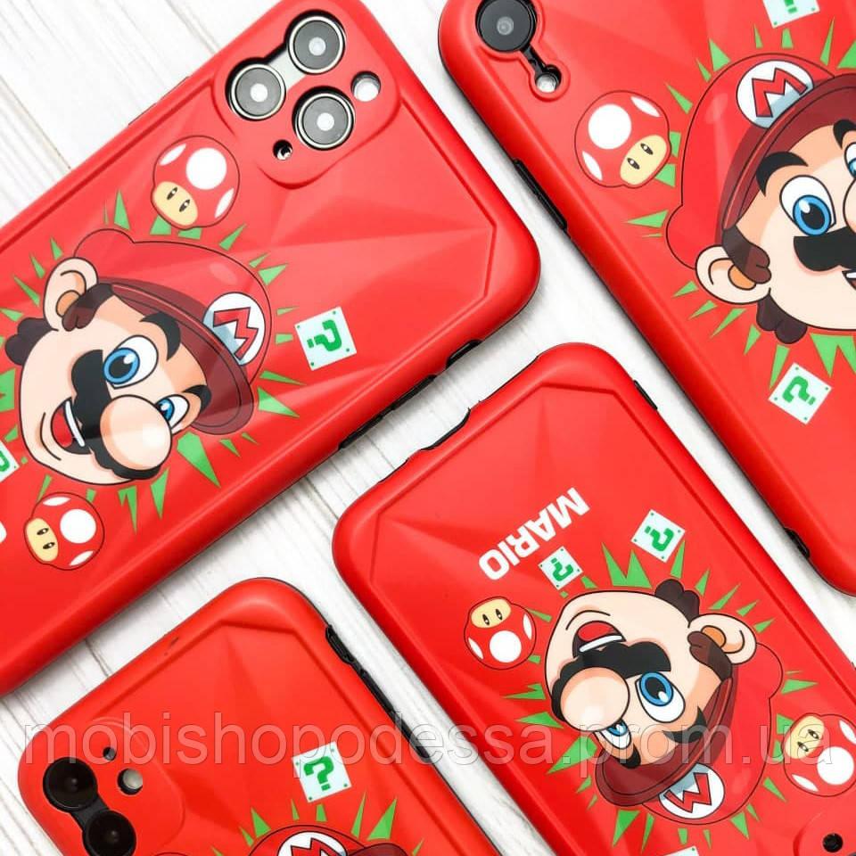 Защитный чехол для Apple iPhone IMD Print Mario Case