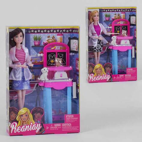 Кукла CS 699-20 (60/2) 2 вида, стойка, 2 питомца, в коробке, фото 2