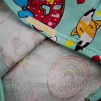 Детская теплая пижамка с начесом пончики Five Stars KD0403-116p, фото 2