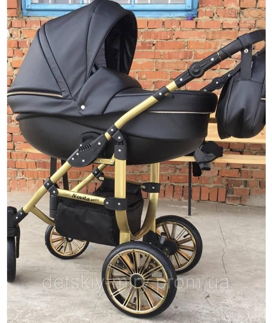 Детская универсальная коляска 2 в 1 Novita Perla - фото 4