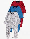 Хлопковый слип с ножками Gеоrgе  3-6м 62-68см, фото 7