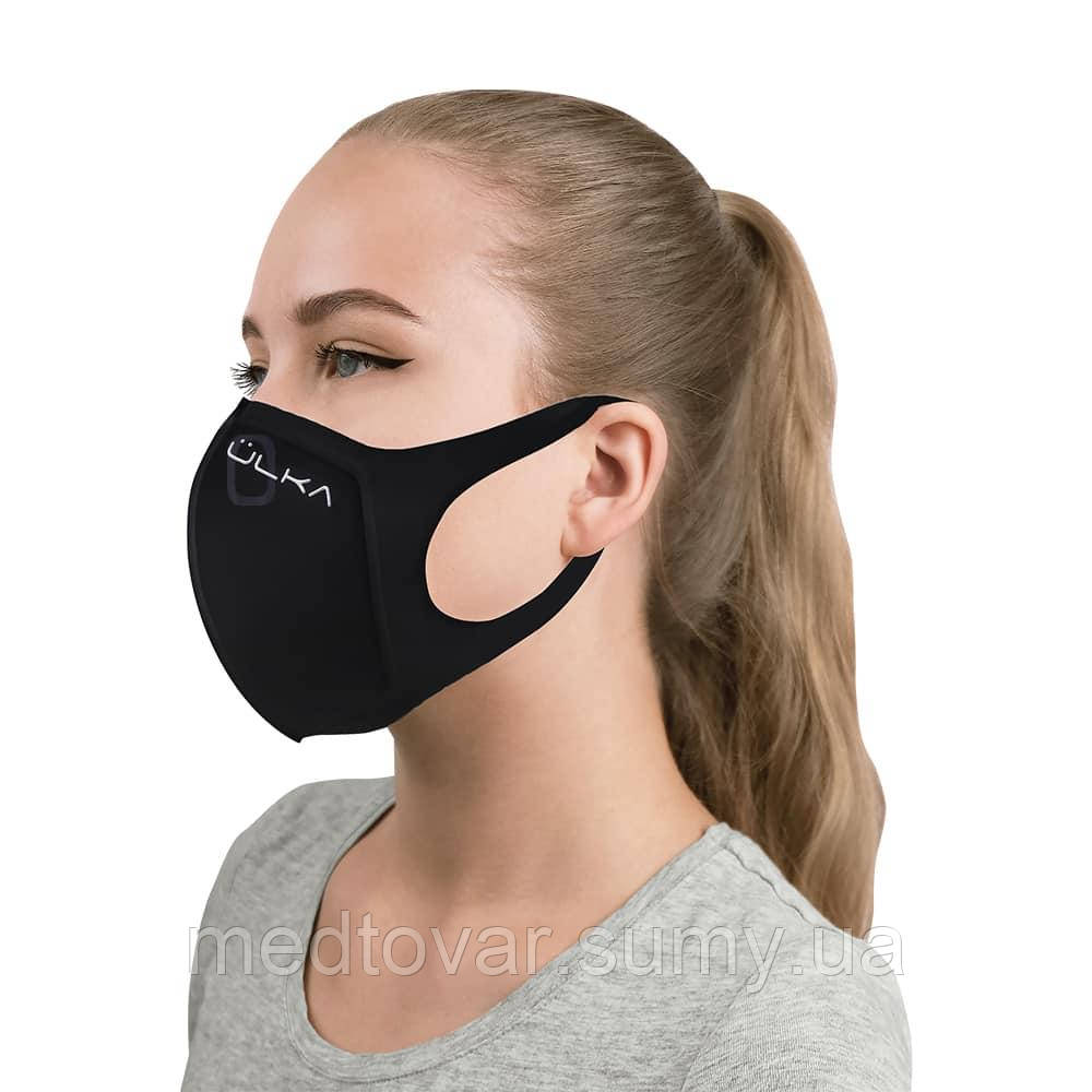 Багаторазова захисна вугільна маска ULKA