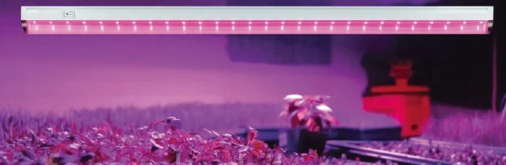 Фитолампа Feron AL7000 линейный светодиодный Led светильник (лампа) для растений 8W 60см.