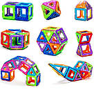 Магнитный конструктор,детский 3Д конструктор,конструктор  магнитный в чемодане 48 деталей, фото 6