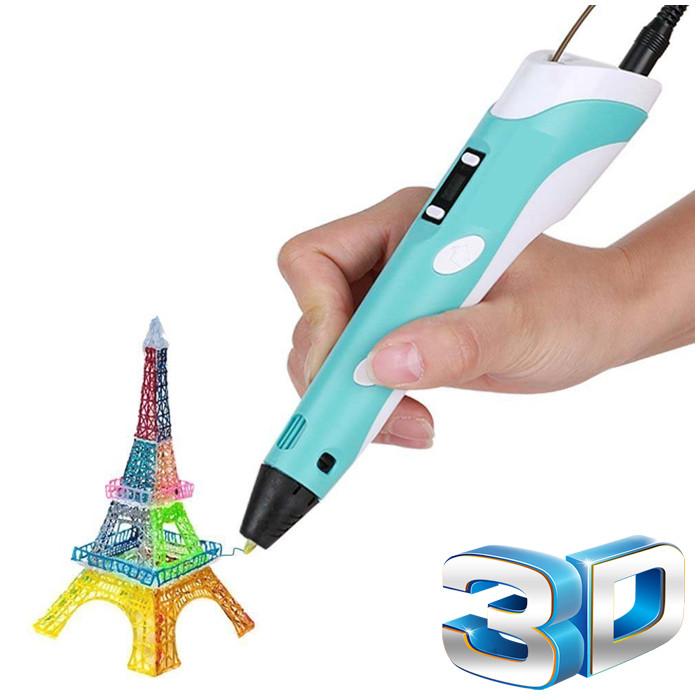 3д ручка 3D pen LED Дисплей для рисования