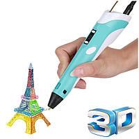 3д ручка 3D pen LED Дисплей для рисования, фото 1