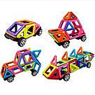 Магнитный конструктор,детский 3Д конструктор,конструктор  магнитный в чемодане 48 деталей, фото 2