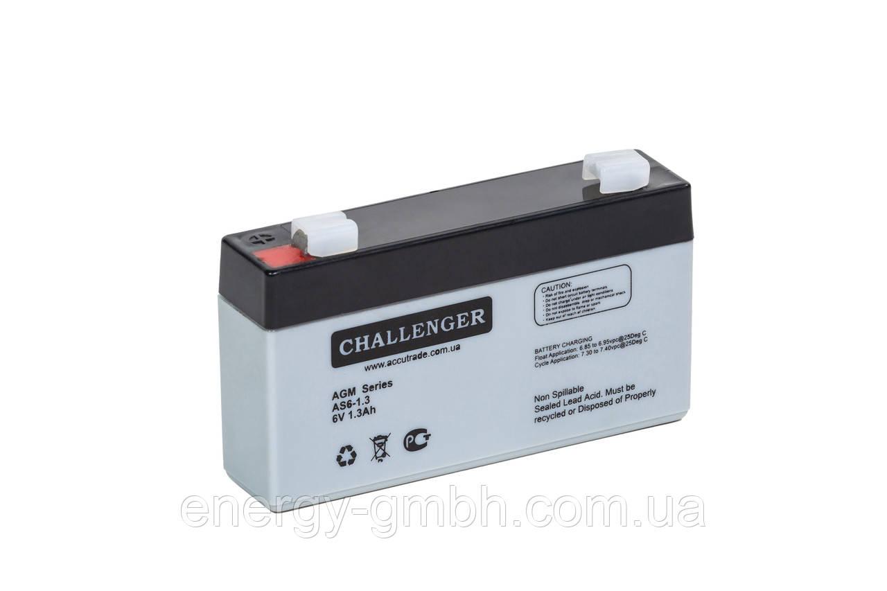 Аккумуляторная батарея Challenger AS 6-1,3