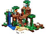 Конструктор Майнкрафт Bela 10471 Домик на дереве в джунглях, фото 2