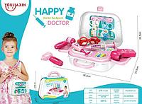 """Детский чемоданчик """"HAPPY DOCTOR"""" 13 деталей / набор доктора, фото 1"""